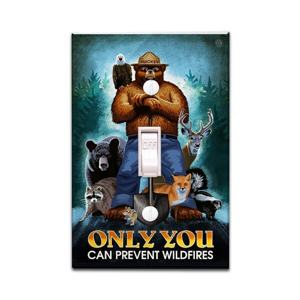 Shop Smokey Bear Only You Can Prevent Lp Artwork Light
