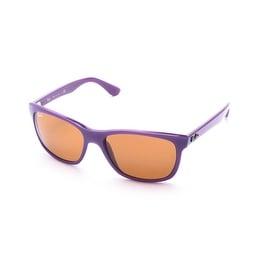 Ray-Ban Square Sunglasses Green/Brown - Small