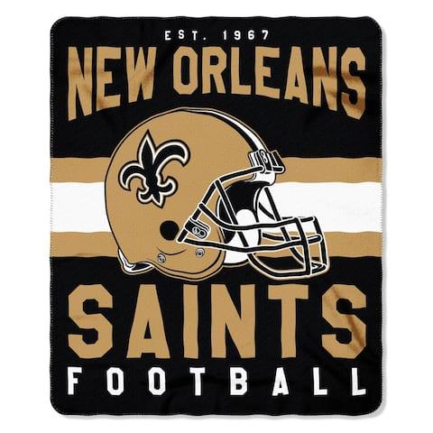 The Northwest Company New Orleans Saints Fleece Throw , Gold