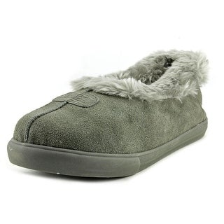 Bobs by Skechers Mad Crush-Snuggle In Round Toe Synthetic Slipper