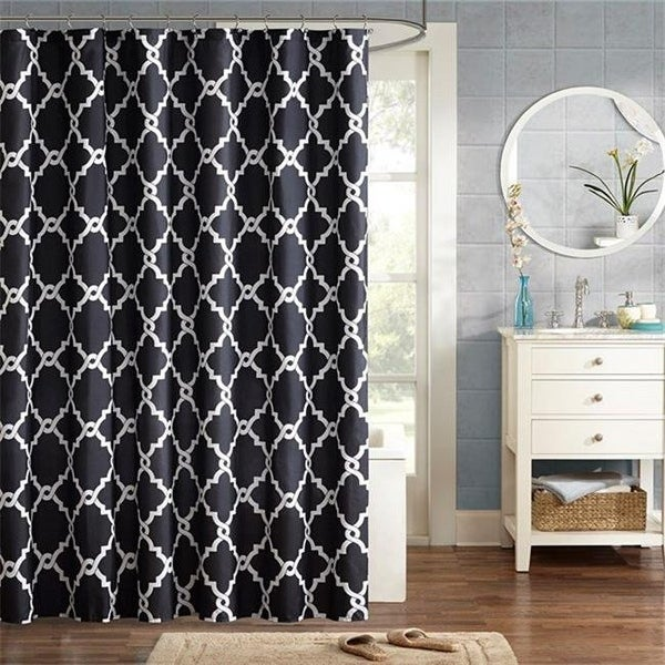 Shop Madison Park MPE70 552 108 X 72 In Merritt Shower Curtain