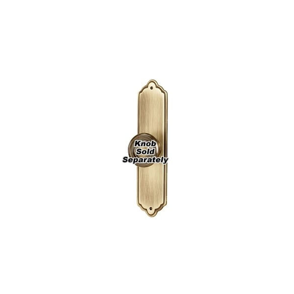 "Alno A1226-4 Escutcheon 4"" Long Cabinet Knob Backplate"