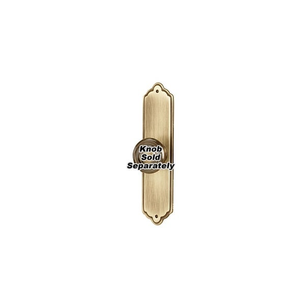Alno A1226-4 Escutcheon 4 Inch Long Cabinet Knob Backplate