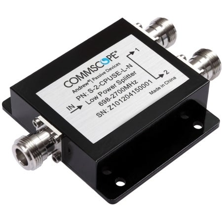 CommScope - 698-2500 MHz 2-Way Splitter w/ N Females