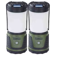 Thermacell Natural Mosquito Repellent Outdoor/Camping Bright Lanterns, 2-Pack - Black