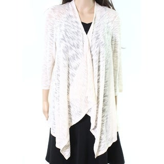 John Paul Richard NEW Sand Ivory Womens Size XL Knitted Cardigan Sweater