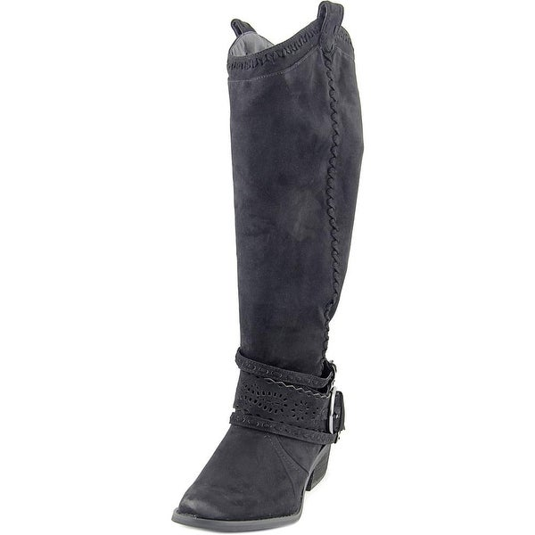Not Rated Lady Swag Women  Round Toe Canvas  Knee High Boot