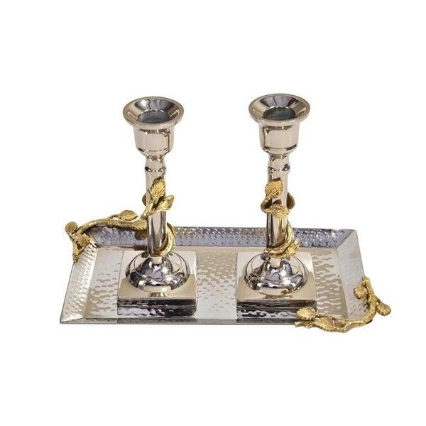 MICT99-2 Candleholders w Tray