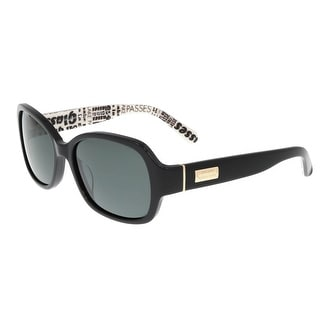 Kate Spade - Akira/P/S W08P Black Rectangle Sunglasses - 54-17-130