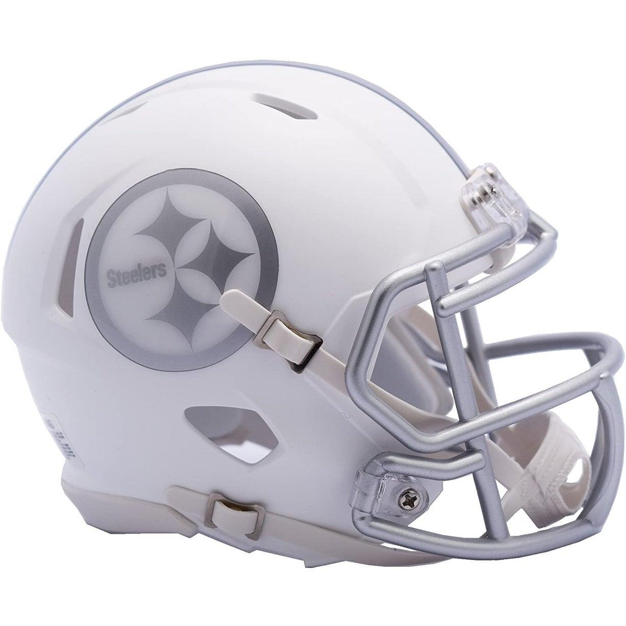 Shop Pittsburgh Steelers Ice Alternate Speed Mini Helmet Overstock 31734470