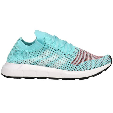 adidas Swift Run Primeknit Lace Up Womens Sneakers Shoes Casual -