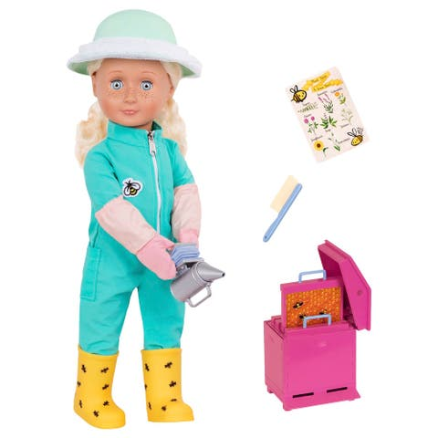 "Our Generation Professional 18"" Doll - Beekeeper - Cassidy"