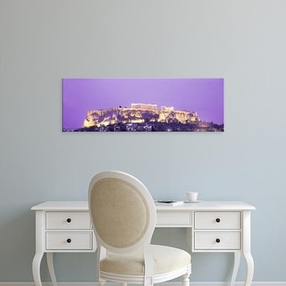 Easy Art Prints Panoramic Images's 'Acropolis Athens Greece' Premium Canvas Art