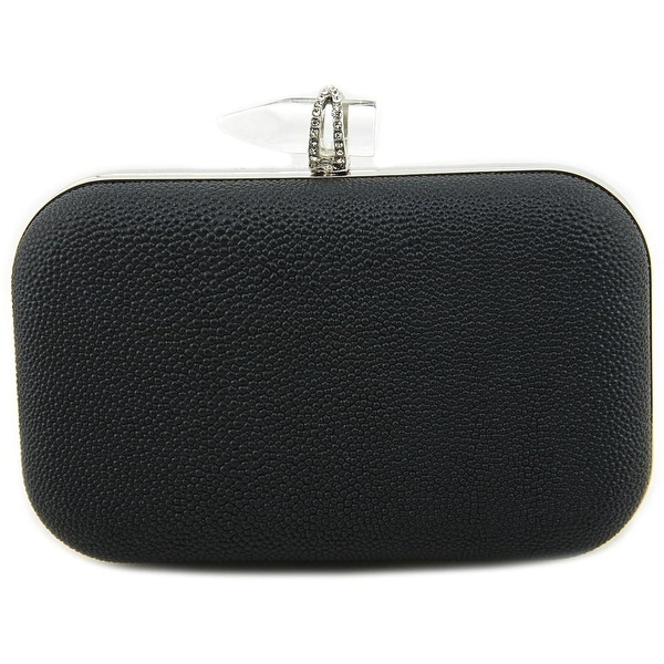 Lulu Townsend Brennan Clutch Women Synthetic Clutch - Black