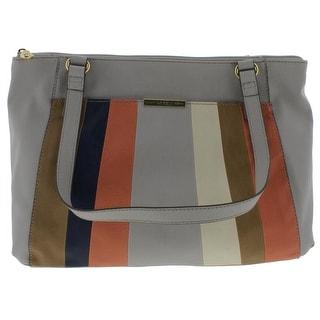 Relic Womens Alexa Shoulder Handbag Faux Leather Colorblock - Multi - Medium