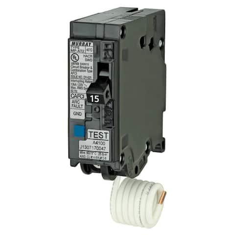 Murray MPA115AFC Arc Fault Circuit Interrupter Breaker, 15 Amp