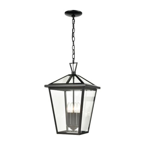 Main Street 4-Light Outdoor Pendant