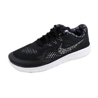 Nike Grade-School Free RN Print White/White 859588-001