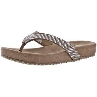 Volatile Jania Rhinestone Women's Flip Flop Sandals