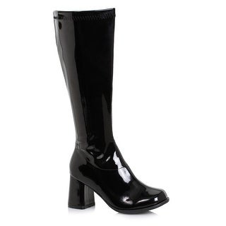 "Link to Womens 3"" Wide Width Black Gogo Boots with Zipper Similar Items in Pretend Play"