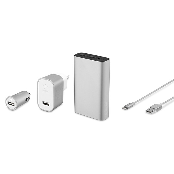 Belkin Components - Silver Mixit Metallic Colormatch Charge