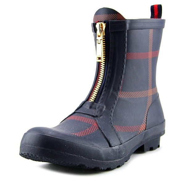 Tommy Hilfiger Ryann 2 Women Round Toe Synthetic Blue Rain Boot