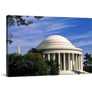 """Jefferson Memorial, Washington, DC, USA"" Canvas Wall Art"