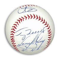 MLB Baseball Autographed by Four Members of the 1993 Philadelphia Phillies Curt Schilling Terry Mul