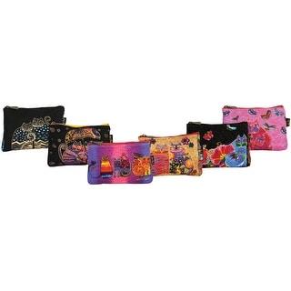 "Cosmetic Bag Zipper Top Assortment 9""X1""X6""-Feline Minis - feline minis"