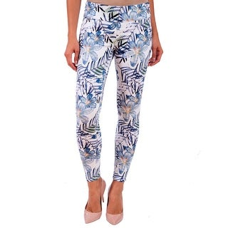 Lola Jeans Julia-JNG, Mid Rise Pull On Ankle With 4-Way Stretch