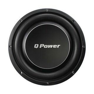 Q Power Deluxe 12 Inch Shallow Mount 1200 Watt Flat Car Subwoofer QPF12-FLAT