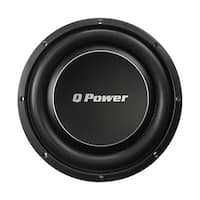 """Qpower Deluxe 10"""" Flat subwoofer 1000W Max"""