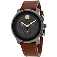 Movado Men's Bold 3600421 Black Dial Watch