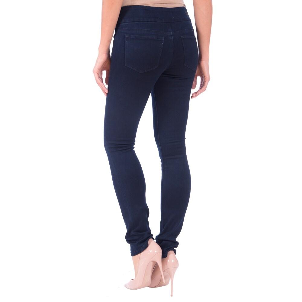 Lola Pull On Straight Jeans, Catherine-OBLU - Thumbnail 1