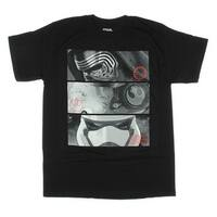 Star Wars Force Awakens Kylo Ren X-Wing Rebel Poe Stormtrooper Mens T-shirt
