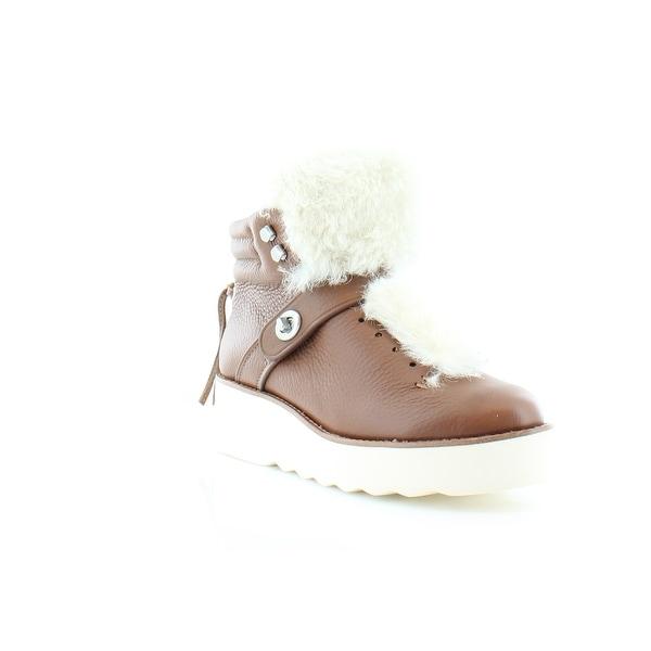 Coach Urban Hiking Women's Boots Saddle/Natural - 8.5