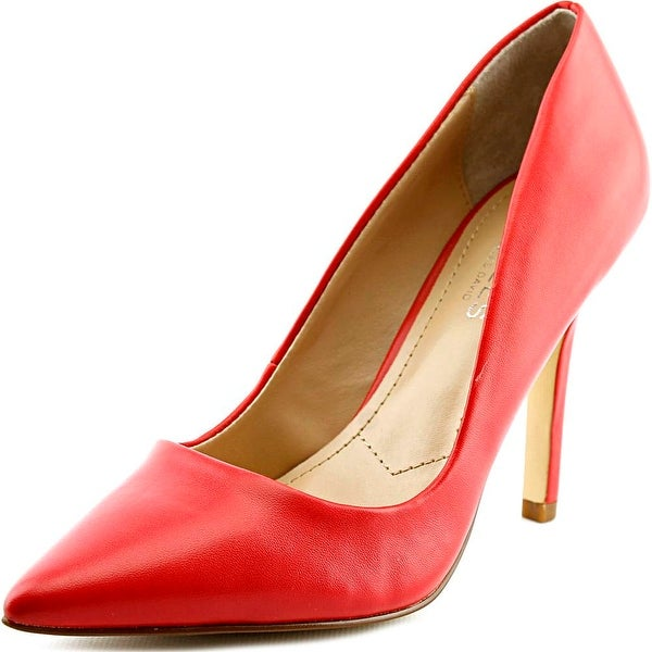 Charles By Charles David Sweetness Women  Pointed Toe Leather Red Heels