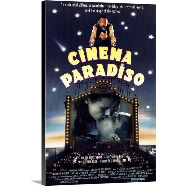 """Cinema Paradiso (1988)"" Canvas Wall Art. Opens flyout."