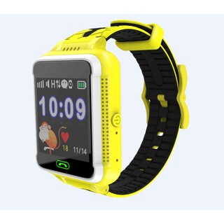 TechComm G500S Kids Smartwatch for T-Mobile ONLY with GPS and Fitness Tracker (Option: Yellow)