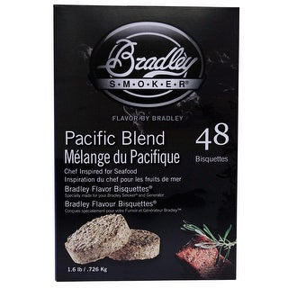 Bradley Smoker Btpb48 Pacific Blend Flavoured Bisquettes Pack Of 48