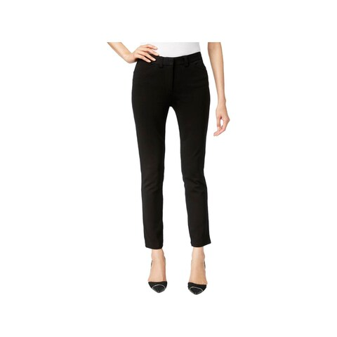 Calvin Klein Womens Dress Pants Straight Fit Slim Leg