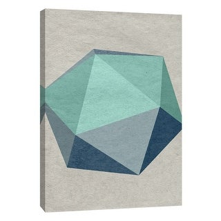 "PTM Images 9-108413  PTM Canvas Collection 10"" x 8"" - ""Linen Geometrics F"" Giclee Patterns and Designs Art Print on Canvas"