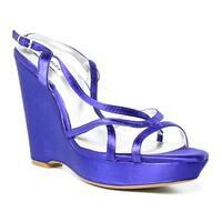 Dyeables Womens Purple Sandals Size 8.5