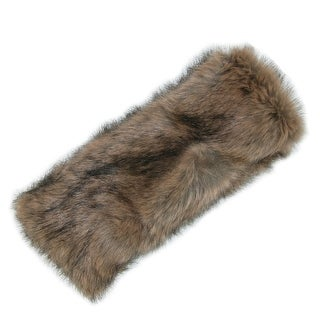 Pia Rossini Women's Faux Fur Headband with Fleece Lining - One size