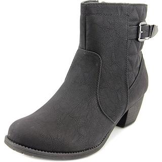 Easy Street Crosby WW Round Toe Synthetic Bootie