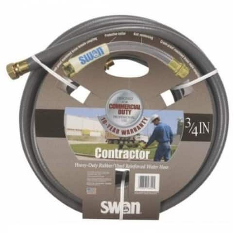 """Swan SNCG34050 Commercial Grade Water Hose, 3/4"""" x 50'"""