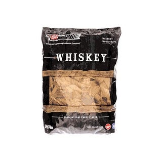 Char-Broil 4915298 Whiskey Wood Smoker Chips, 2 LB