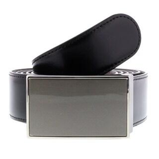 HS Collection HSB 7099 Black/Brown Reversible/Adjustable Mens Belt