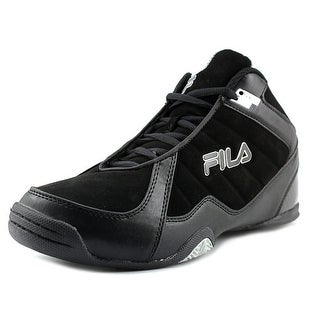 Fila Leave It On The Court 2 Men Round Toe Synthetic Black Basketball Shoe