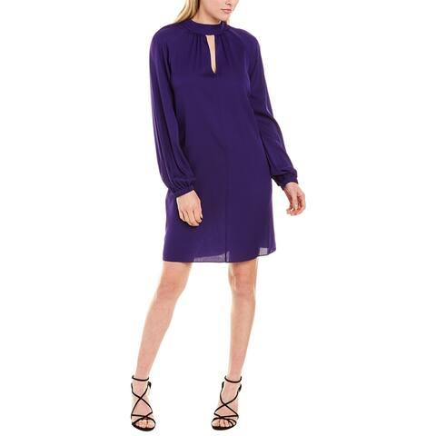 Milly Emerson Silk-Blend Midi Dress